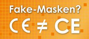 Wie kann ich mich vor Fake-Masken schützen.